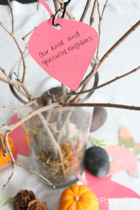 allParenting Tree of Gratitude