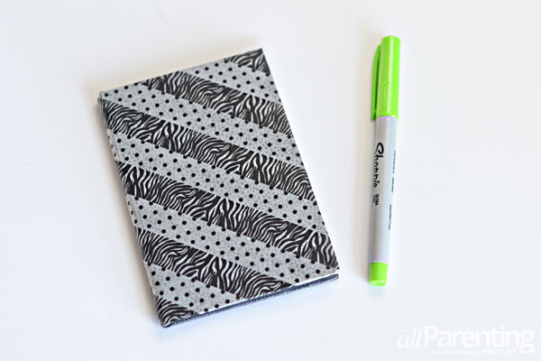 allParenting washi tape notebook
