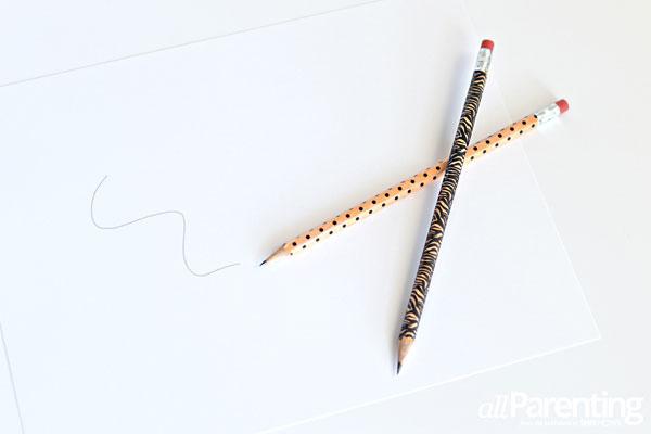 allParenting washi tape pencils