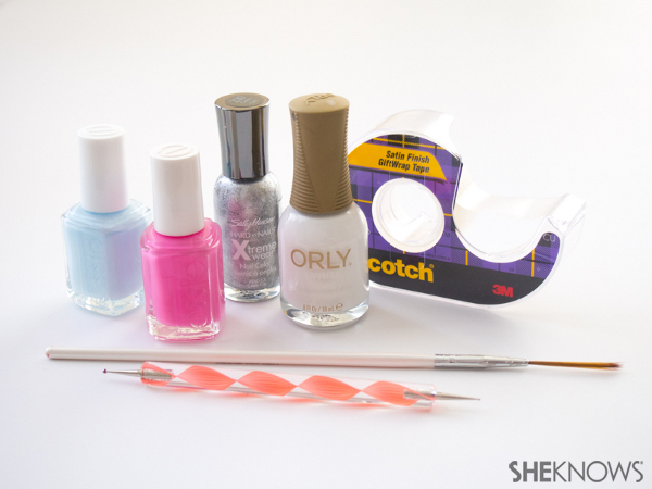 Cookie swap party nails | Sheknows.com -- supplies