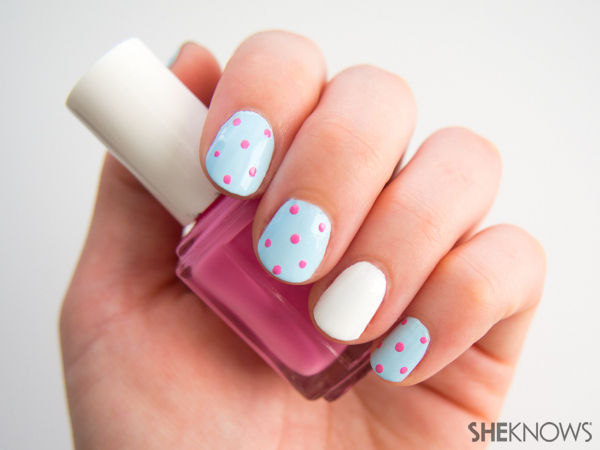 Cookie swap party nails | Sheknows.com -- dot