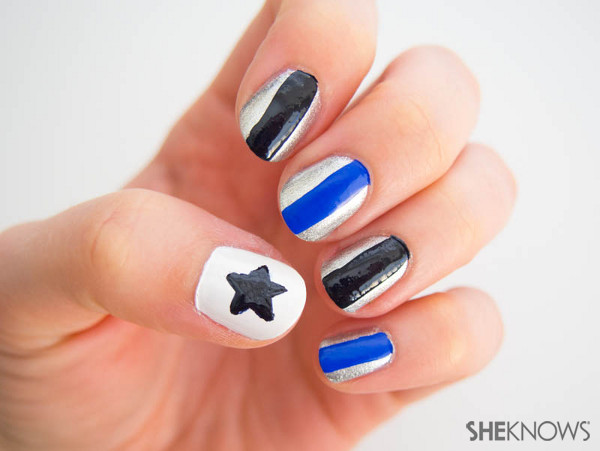 Fan-icure: Dallas Cowboys | Sheknows.com -- stars and stripes