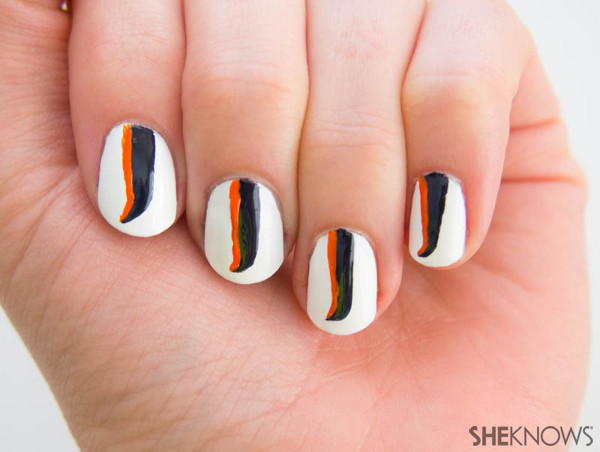 Fan-icure: Denver Broncos | Sheknows.com -- stripe