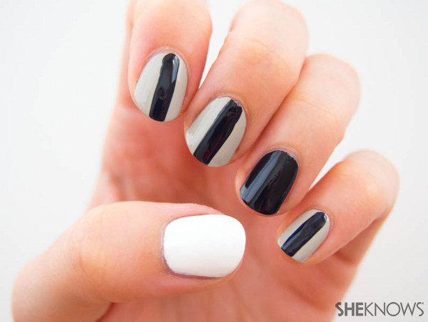 Fan-icure: New England Patriots | Sheknows.com -- stripes