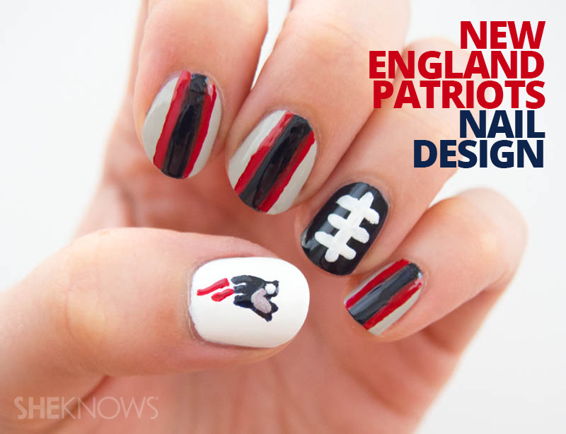 New England Patriots fan-icure