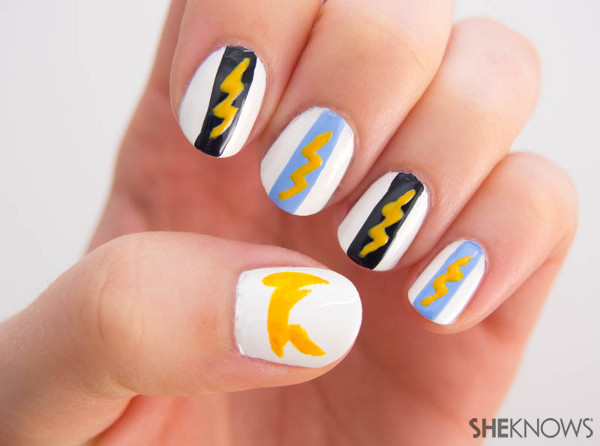 Fan-icure: San Diego Chargers | Sheknows.com -- lightning