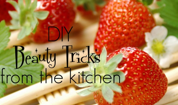 Kitchen beauty tricks