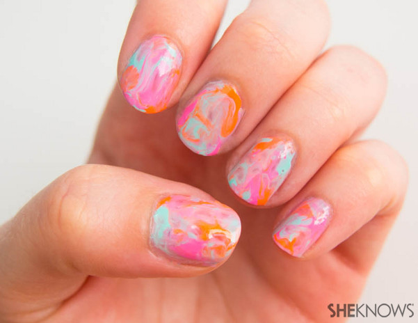 Nail Effect Tutorial Nail Design Tutorial The