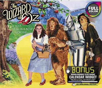 Wizard of Oz calendar