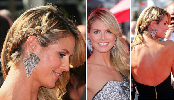 Celeb Hairstyle of the Week: Heidi Klum