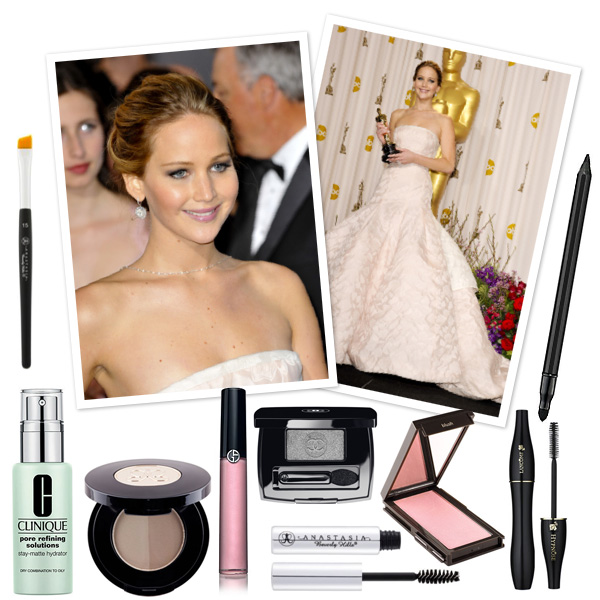 Jennifer Lawrence's Award-worthy makeup