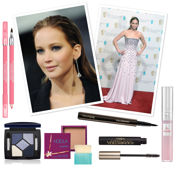 Jennifer Lawrence's Va va voom makeup look