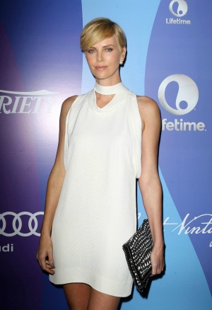 Charlize Theron has corrective neck surgery