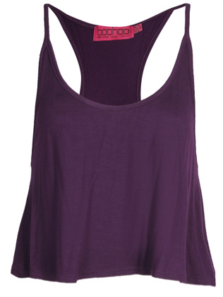 Eva Racer Back Crop Cami Top