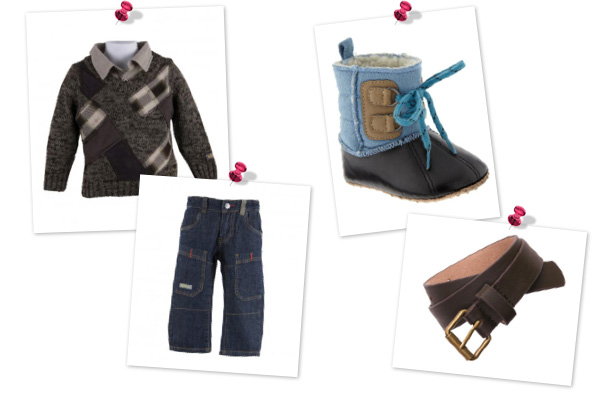 Cute Thanksgiving outfits for baby boys