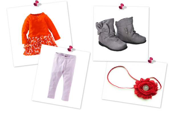 Cute Thanksgiving outfits for baby girls