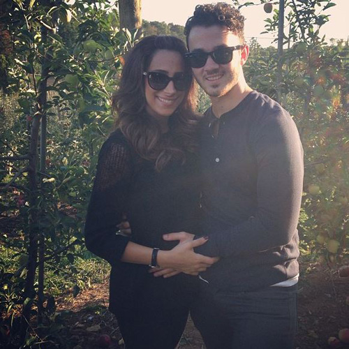 Kevin Jonas and his pregnant wife Danielle Jonas
