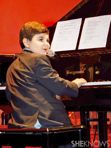 Ethan Walmark performs at 2013 Genius of Autism event