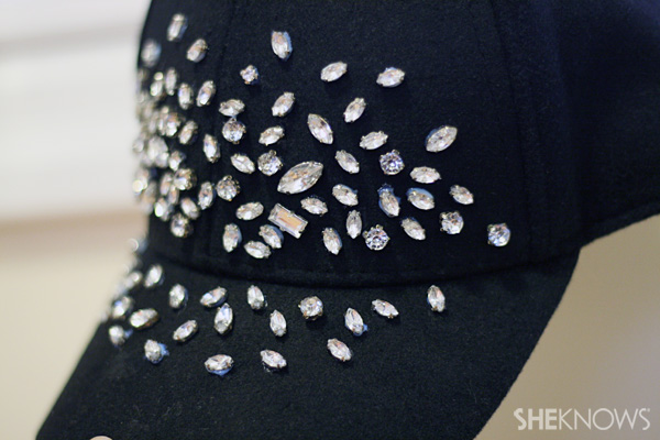 DIY Embellished baseball cap | SheKnows.com
