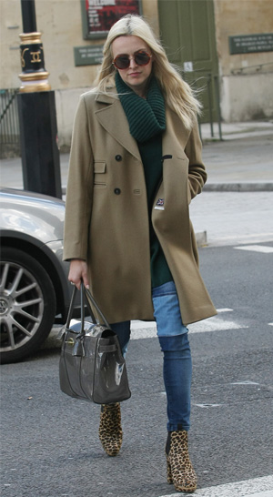 Get the look: Fearne Cotton's winter chic outfit