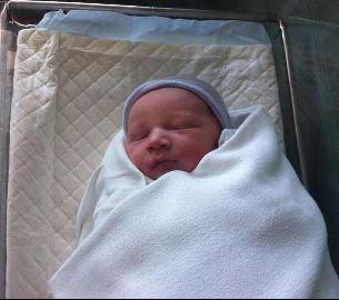 Glee's Heather Morris' baby Elijah