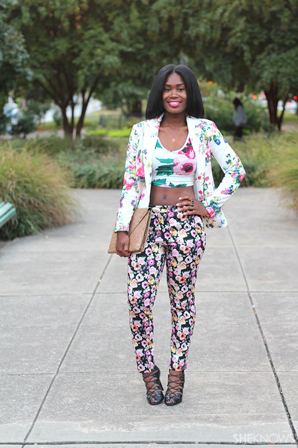 How to pull off mixed prints