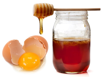 Honey and egg