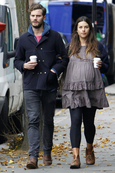 Fifty Shades of Grey's Jamie Dornan and pregnant wife