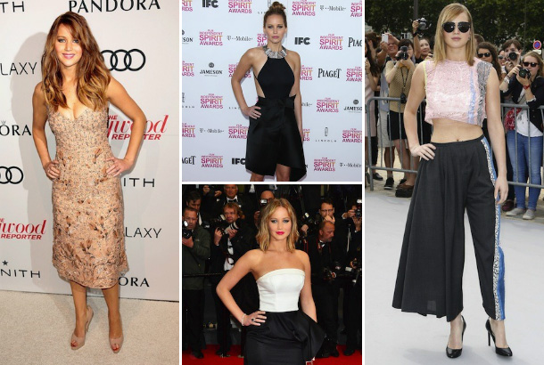 Jennifer Lawrence's major fashion moments