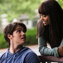 Bonnie and Jeremy in The Vampire Diaries