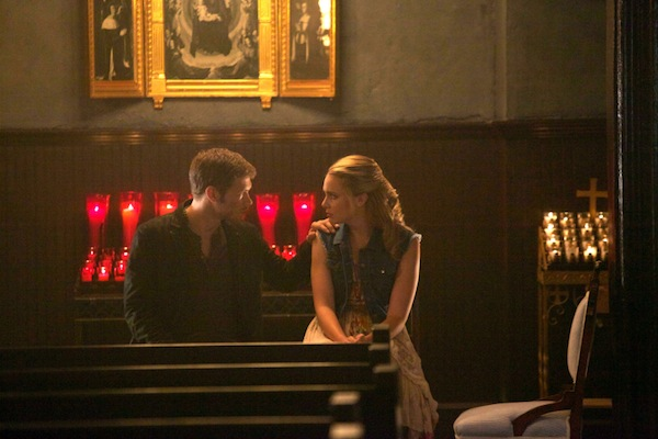 Klaus and Cami bond in The Originals
