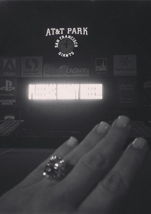 Kanye put a ring on it