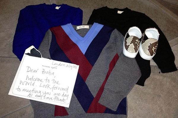 Kim Kardashian baby gifts
