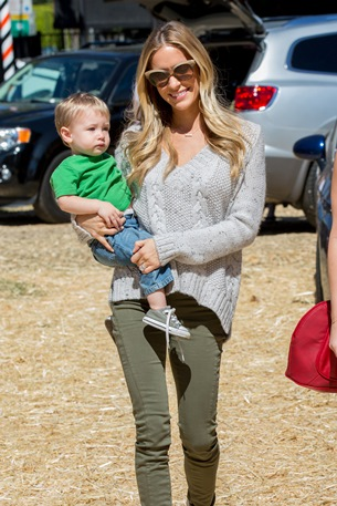 Pregnant Kristin Cavallari and Camden