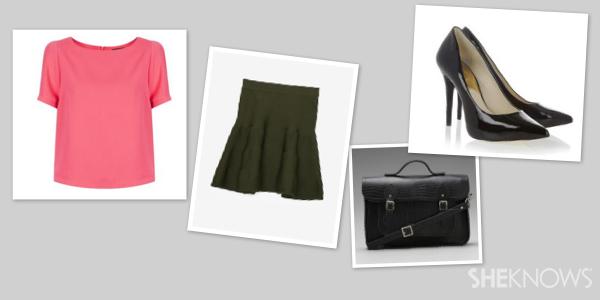 Deep Lichen Green outfit | SheKnows.com