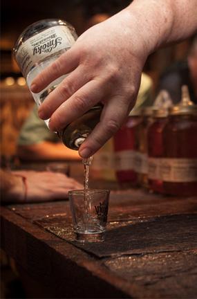 Taste the moonshine, legally
