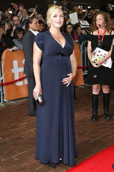 Pregnant Kate Winslet