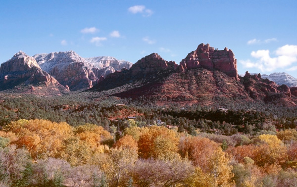 Sedona, AZ in fall