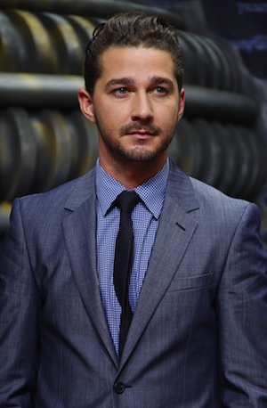 Shia LaBeouf in Berlin