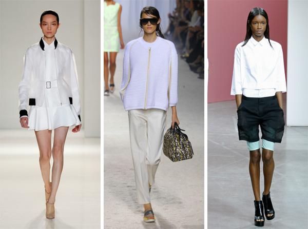 3.1 Phillip LIm, Victoria Beckham and Theyskens Theory -- Spring 2014 -- Boyish fits