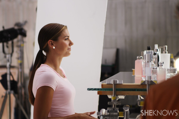 Behind the scenes at Alex Morgan's commercial with ChapStick
