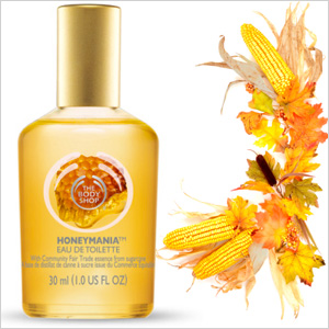 Sweet corn harvest & The Body Shop