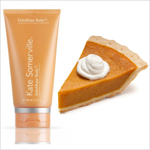 Pumpkin pie & Kate Somerville