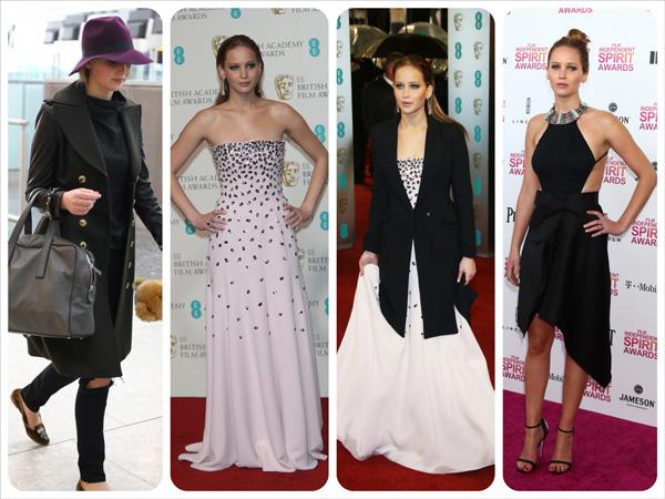 The year in fashion: A 2013 mood board -- Jennifer Lawrence