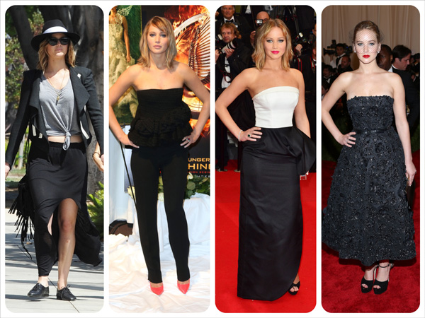 The year in fashion: A 2013 mood board -- Jennifer Lawrence