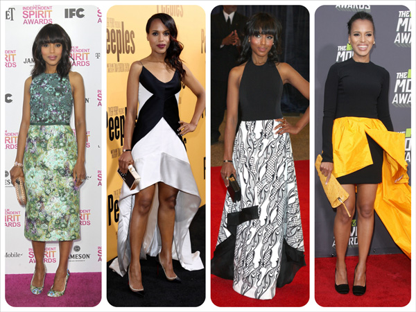 The year in fashion: A 2013 mood board -- Kerry Washington
