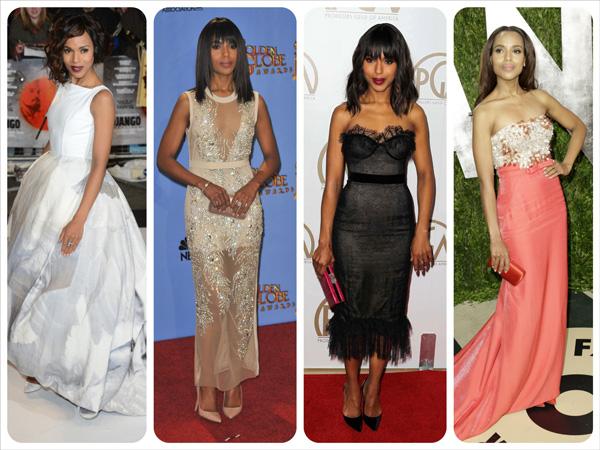 The year in fashion: A 2013 mood board -- Kerry Washington