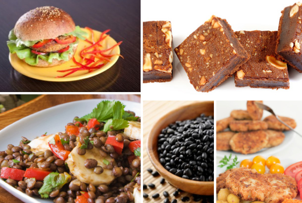 Vegan party foods