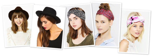 Quick fix accessories for dirty hair