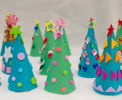 Paper craft new 42 christmas construction paper crafts for Holiday crafts with construction paper